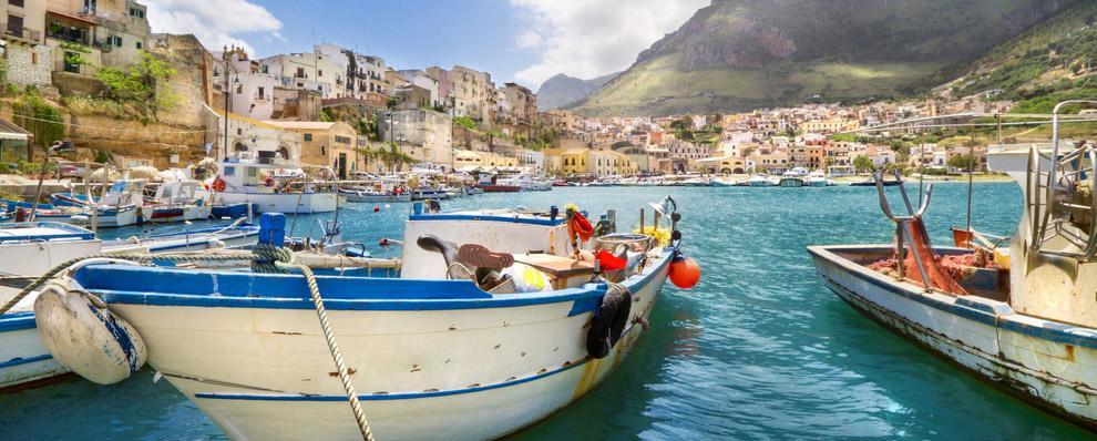 Сицилия (Sicilia), Италия - достпримечательности, путеводитель, карты, туристические маршруты. Что посмотреть на Сицилии: Палермо и окрестности. Транспорт.
